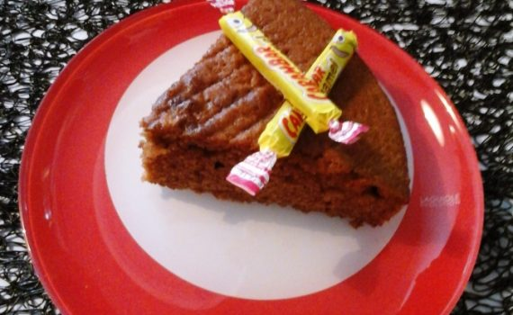 cake moelleux aux carambar